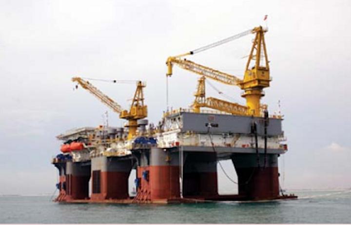 Semi-tender assist drilling rig SKD Esperanza