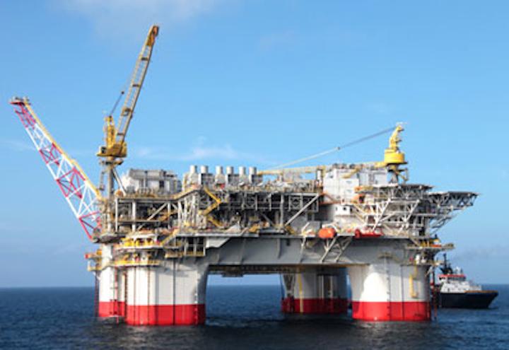 Jack and St. Malo floating production platform