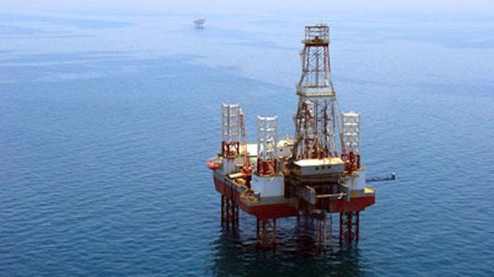Hengam oil field offshore Iran