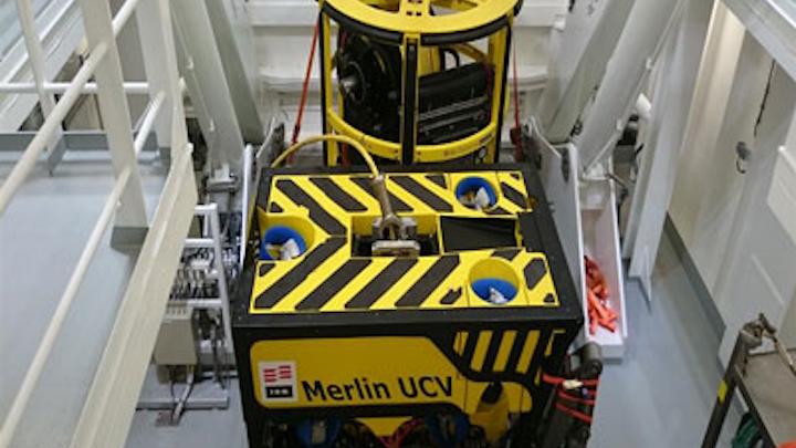 Merlin work-class ROV