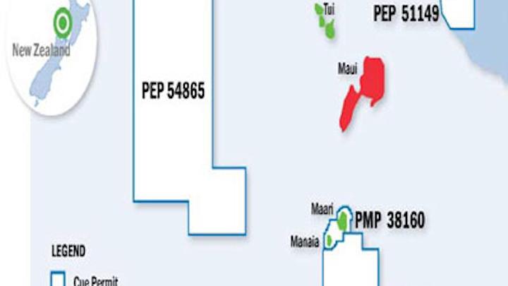 Offshore Taranaki basin