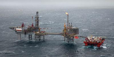 Golden Eagle Development project van Nexen Petroleum UK.