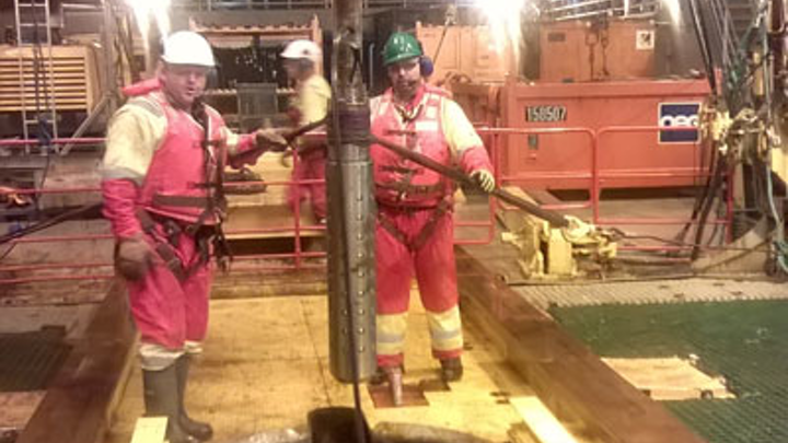 First Subsea tool recovers difficult to reach caisson.