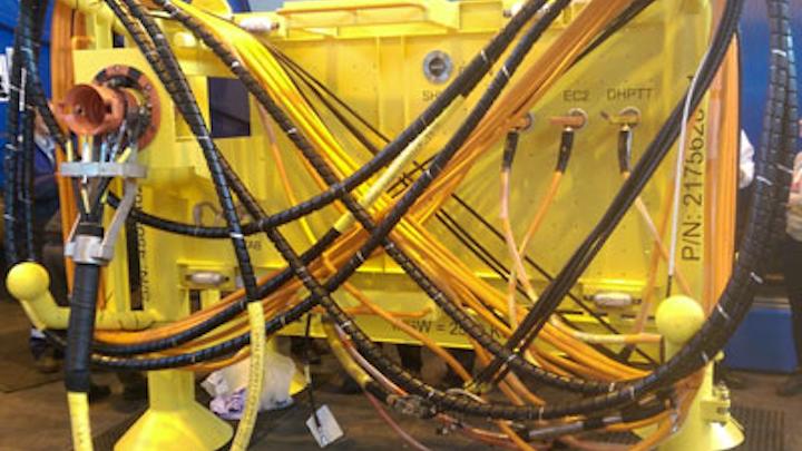 Webtool on Shah Deniz subsea jumper frame