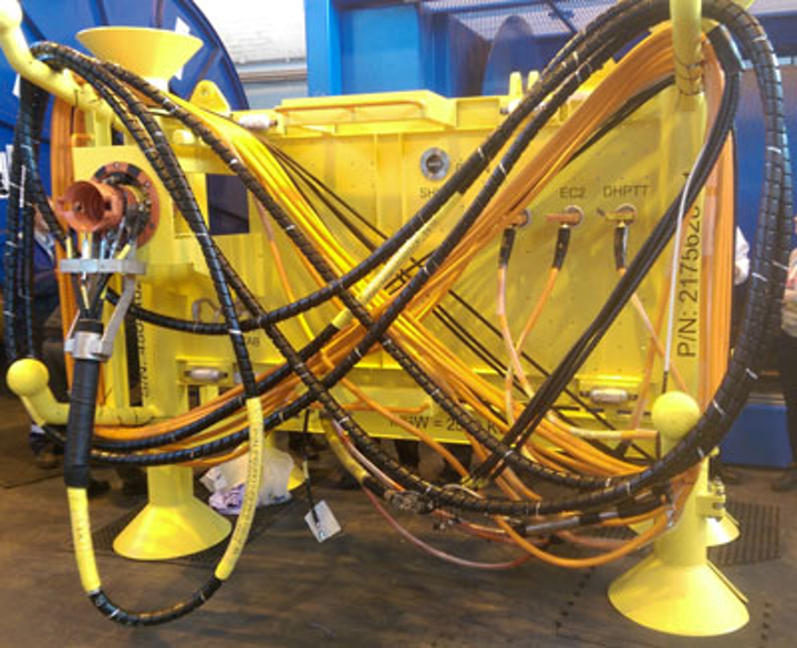 Webtool on Shah Deniz subsea jumper frame