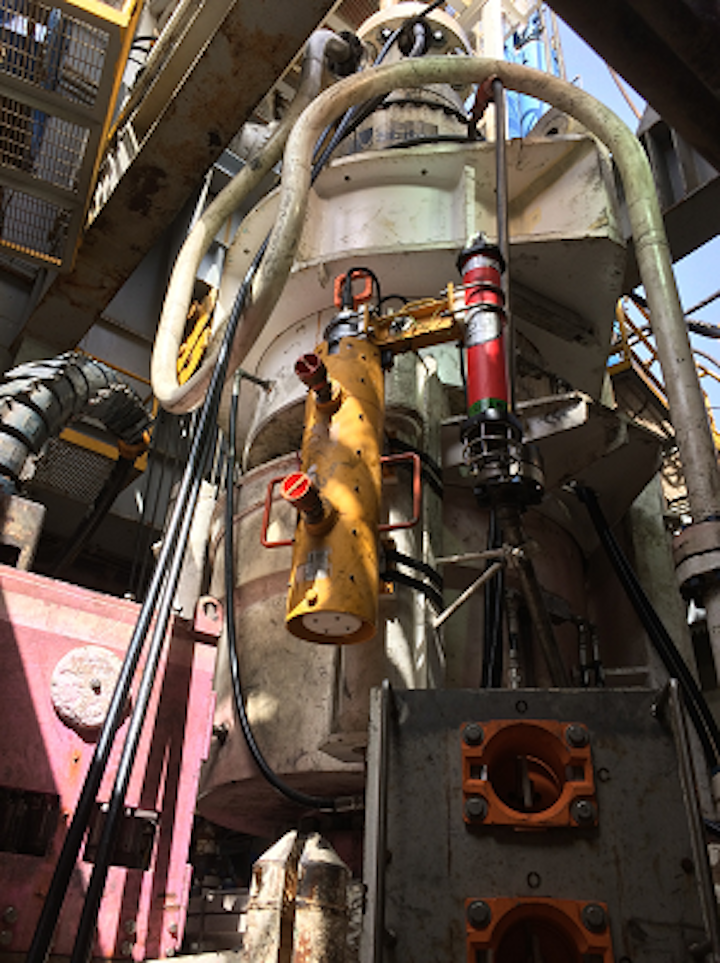 Fugro supplied its Wellhead and Riser Instrumentation Service