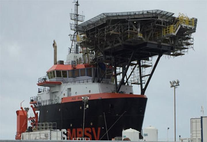 Hornbeck Offshore Services multi-purpose platform supply vessel
