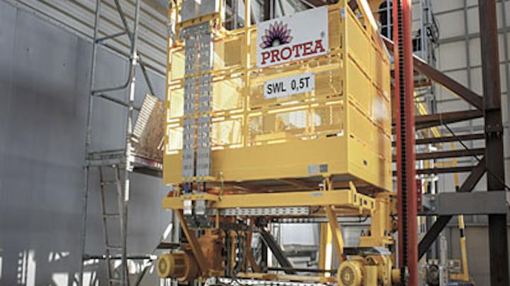 Protea 0.5-ton SWL cargo lift system
