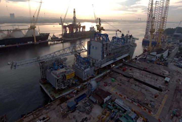 Ivar Aasen platform deck