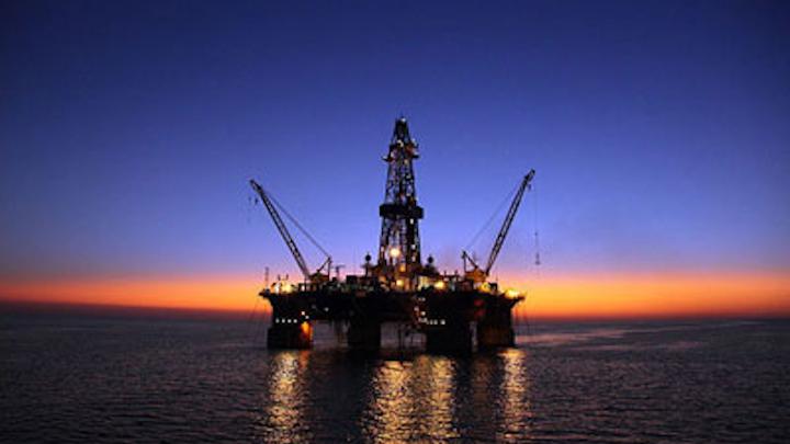 Sardar-e Jangal oil field in the Iranian sector of the Caspian Sea