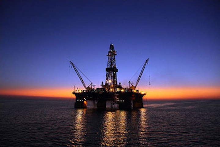 Sardar-e Jangal oil field in the Iranian sector of the Caspian Sea