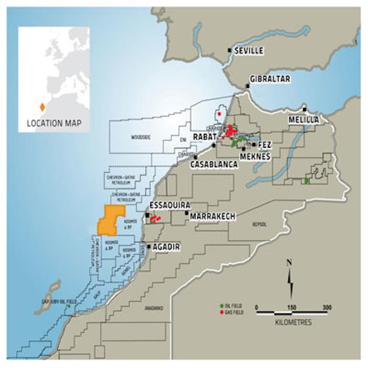 Mazagan permit offshore Morocco