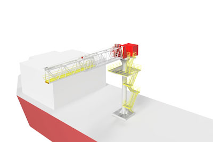 MaXccess AM-Series of active motion compensated gangway system