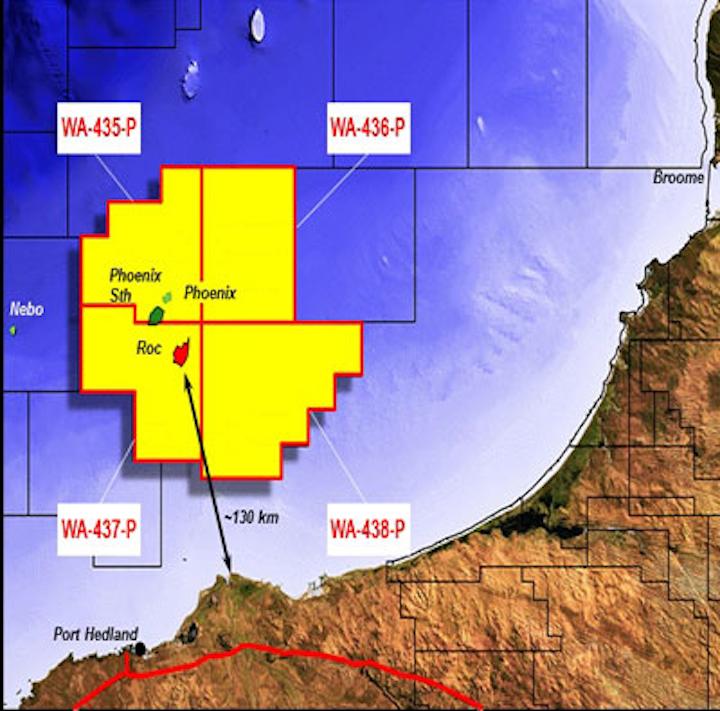 Offshore Western Australia exploration permits