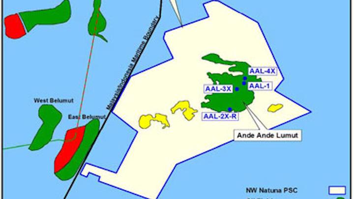 Northwest Natuna PSC offshore Indonesia