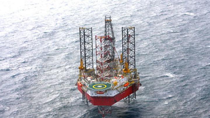 Seadrill's West Cressida jackup drilling rig