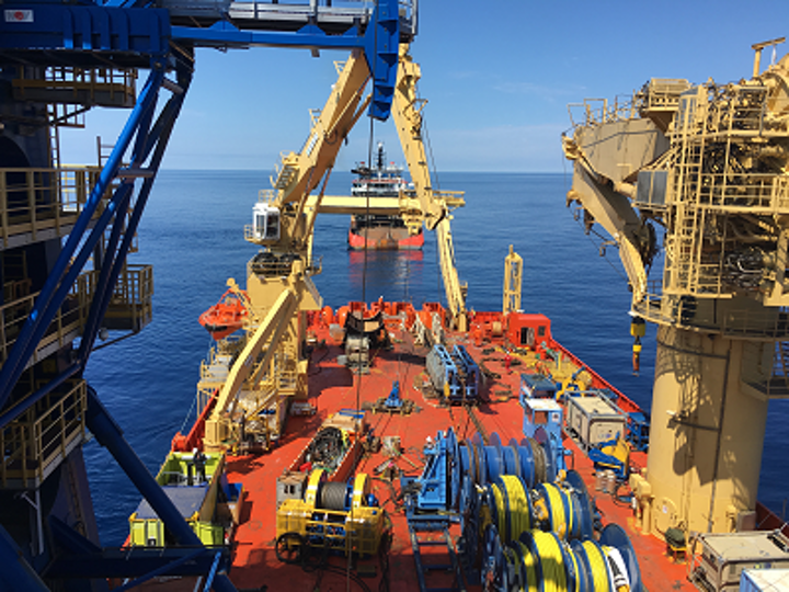 Aquatic Engineering & Construction Ltd. and alliance partner James Fisher Offshore