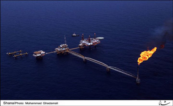 Forouzan oil field development in the Persian Gulf