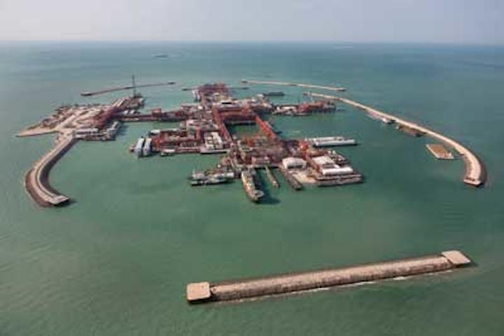 Kashagan oil field