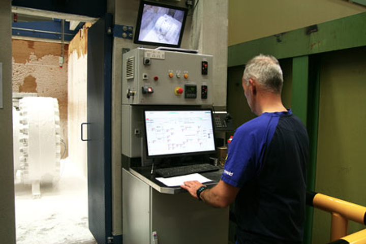 Test bunker at the Mokveld production facility in the Netherlands