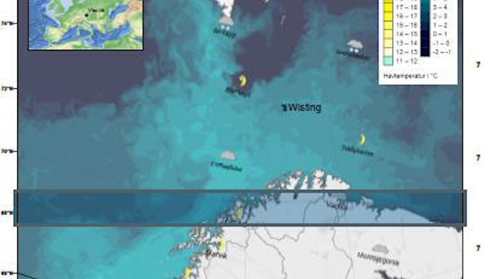 Wisting location offshore Norway in the Barents Sea