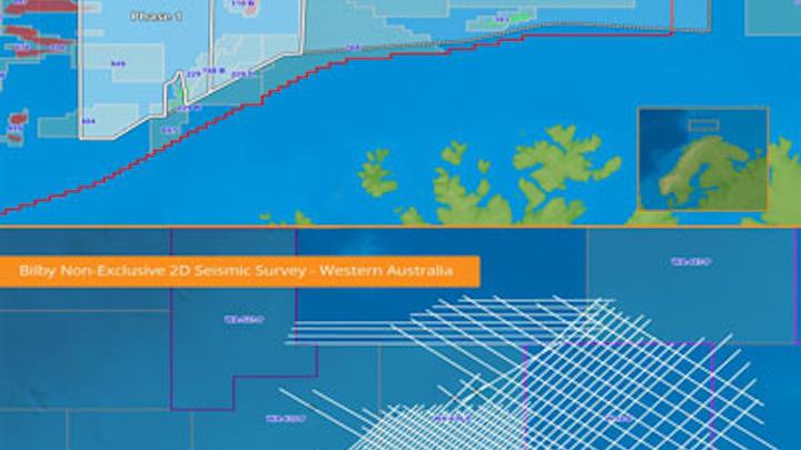 Frontier seismic surveys offshore Norway and Australia