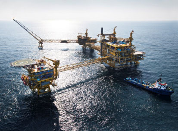 Al-Shaheen oil field offshore Qatar