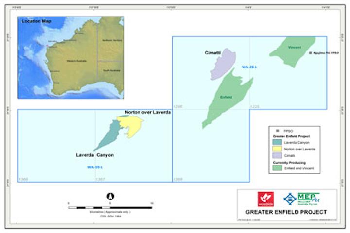Greater Enfield development offshore Western Australia