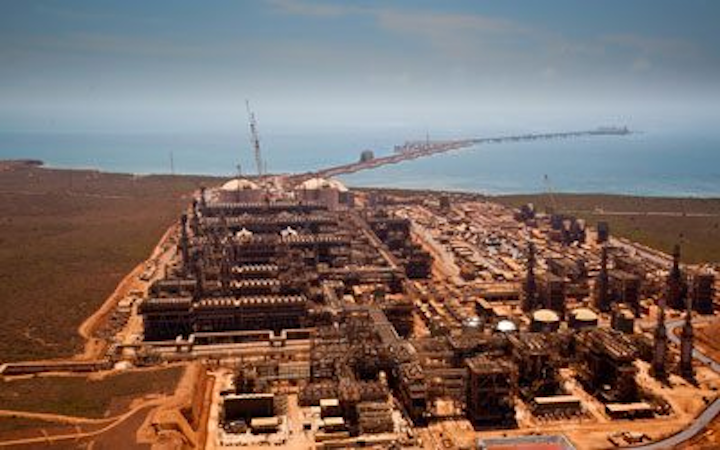 Gorgon LNG project