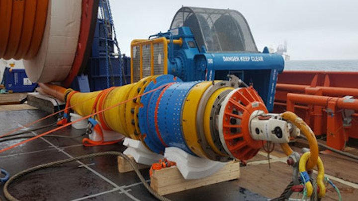 First Subsea bend stiffener connector