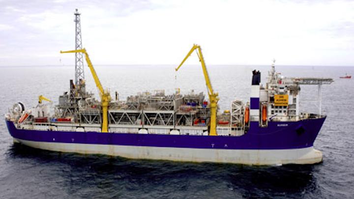 Alvheim FPSO in the Norwegian North Sea