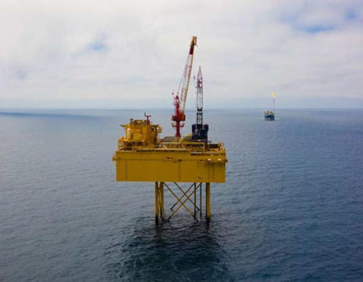 Maari oil field development offshore New Zealand