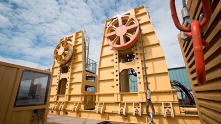 Maritime Developments Ltd.'s reel drive system