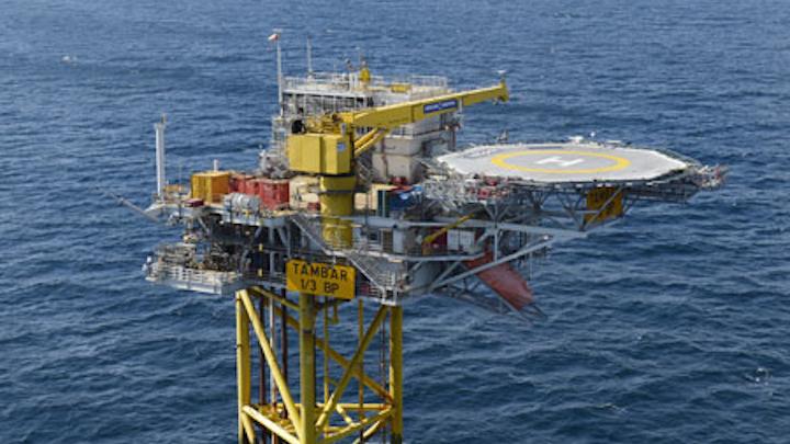BP's Tambar oil field development offshore Norway