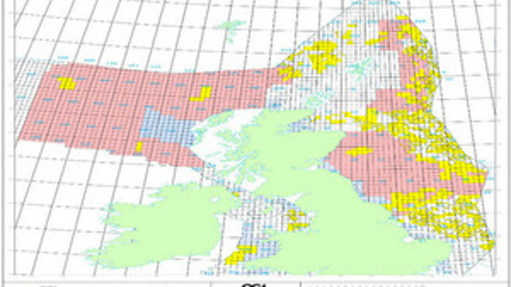 UK continental shelf 29th round of offshore licensing