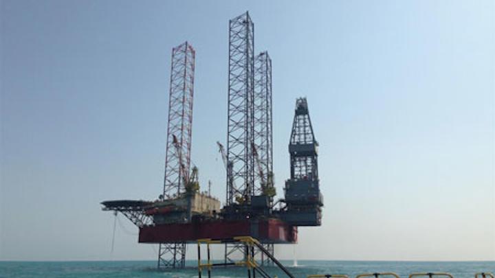 AOD I jackup drilling rig
