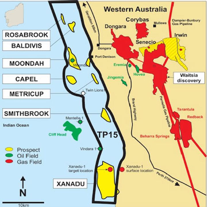 TP/15 permit offshore Western Australia