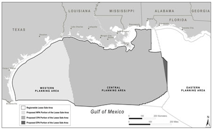 Gulf of Mexico outer continental shelf