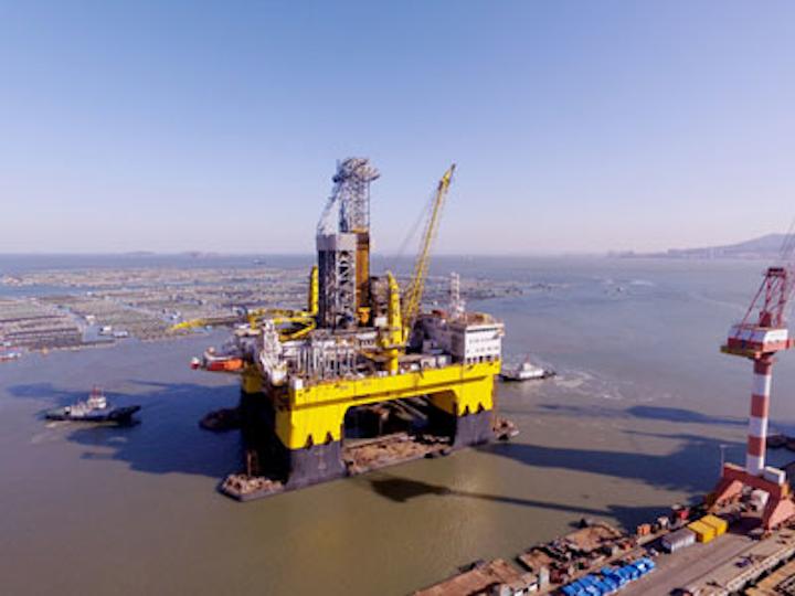 Newbuild drilling semisubmersible D90 1#
