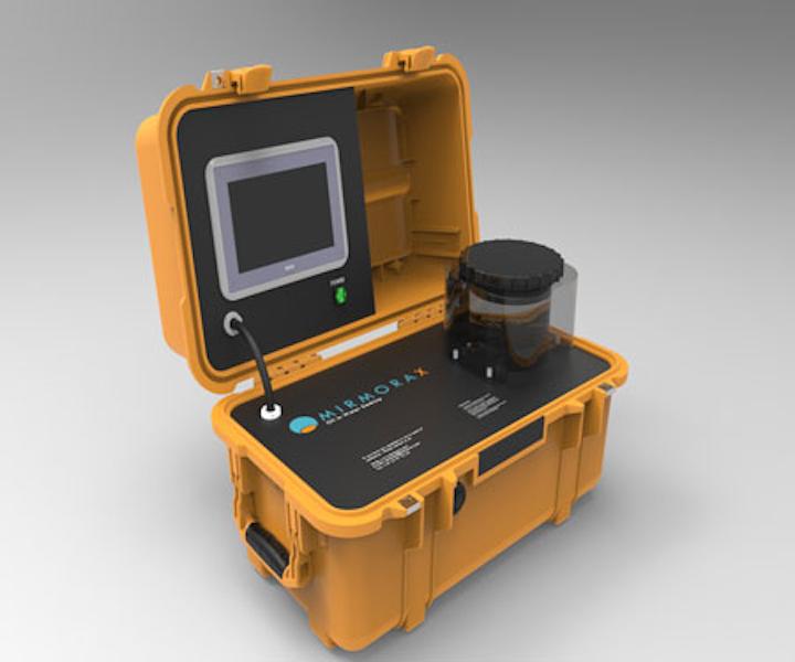 DT250, desktop oil-in-water analyzer