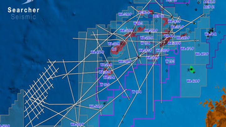 Vampire 2D seismic survey in the Browse basin offshore Western Australia