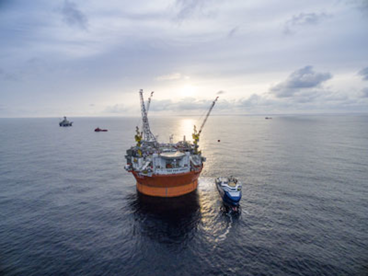 Goliat FPSO offshore Norway in the Barents Sea