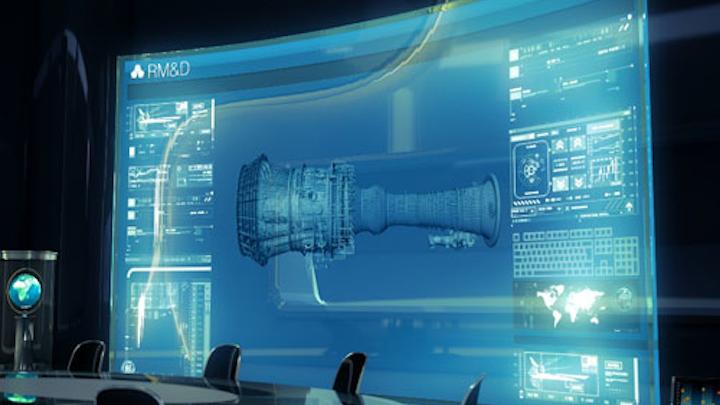 GE Oil & Gas model digital turbine