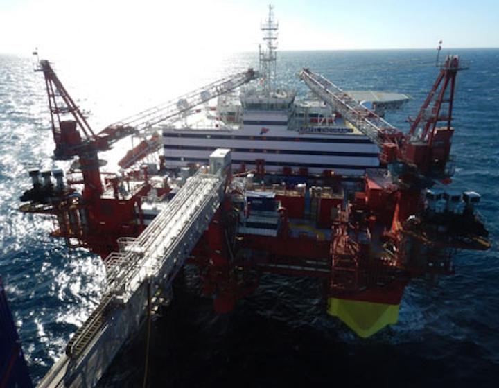 Floatel Endurance accommodation semisubmersible