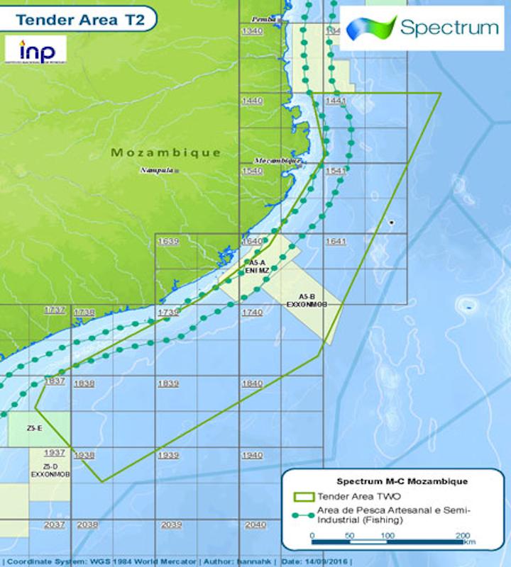 Mozambique Tender Area 2