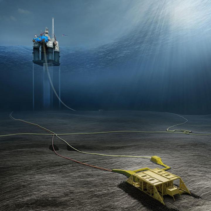 Dvalin gas field development offshore Norway