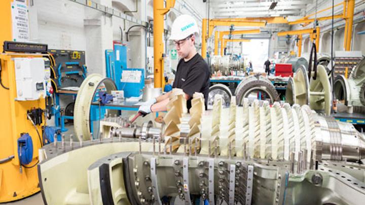 SGT-400 industrial gas turbine