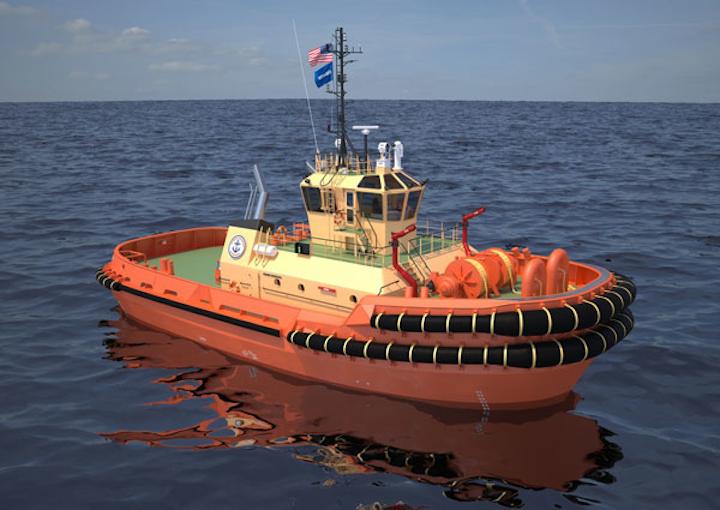 ASD 3212 escort/mooring tug design