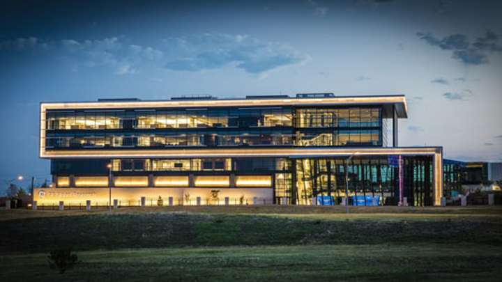 GE's oil and gas technology center in Oklahoma City