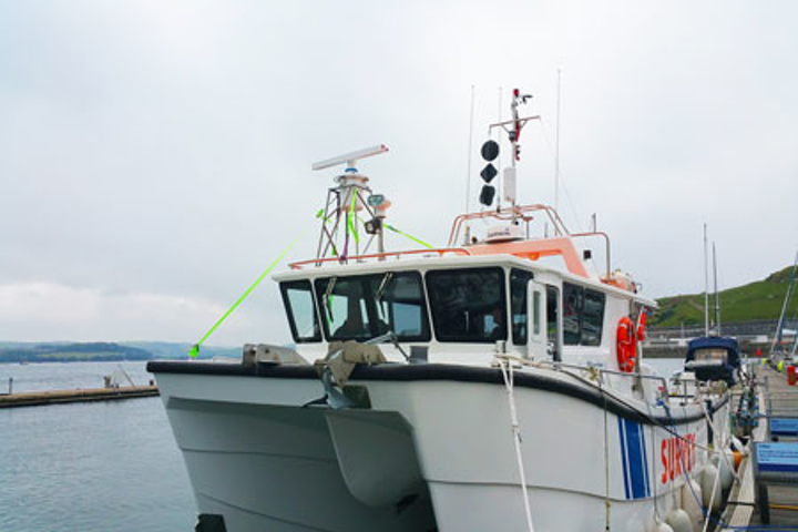 Sonardyne's charter vessel Echo Explorer